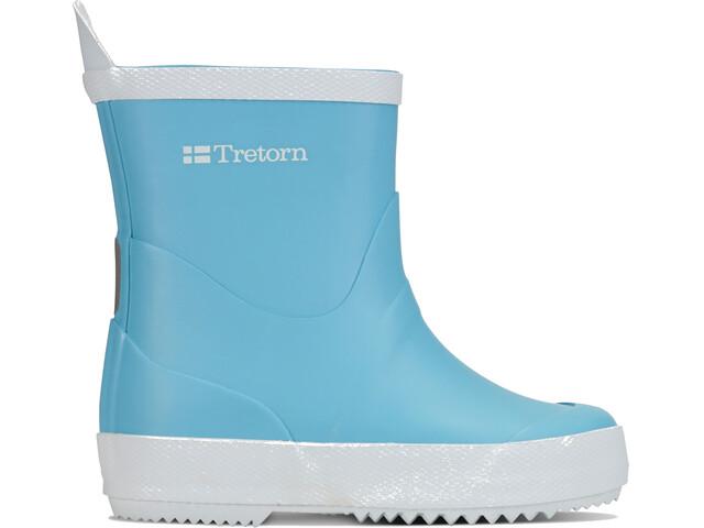 Tretorn Kids Wings Rubber Boots Light Blue